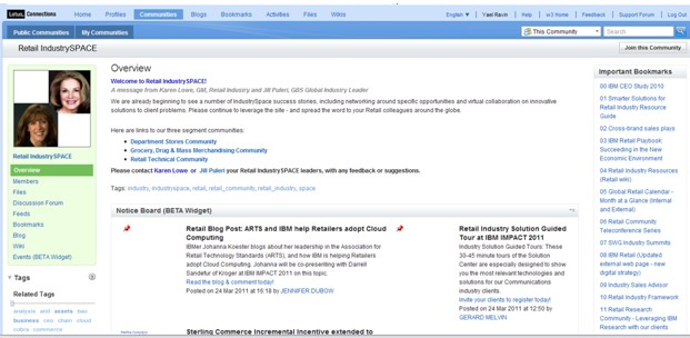 IBM Connections Communities June 2011
