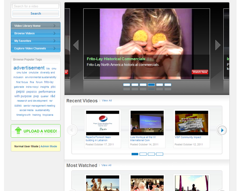 Intranet case study sneak preview: PepsiCo employee videos