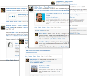 Social intranet groups on Yammer, Teekay Corp