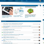 DIRECTV intranet home page, May 2014