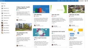 Microsoft Delve, code name: Oslo