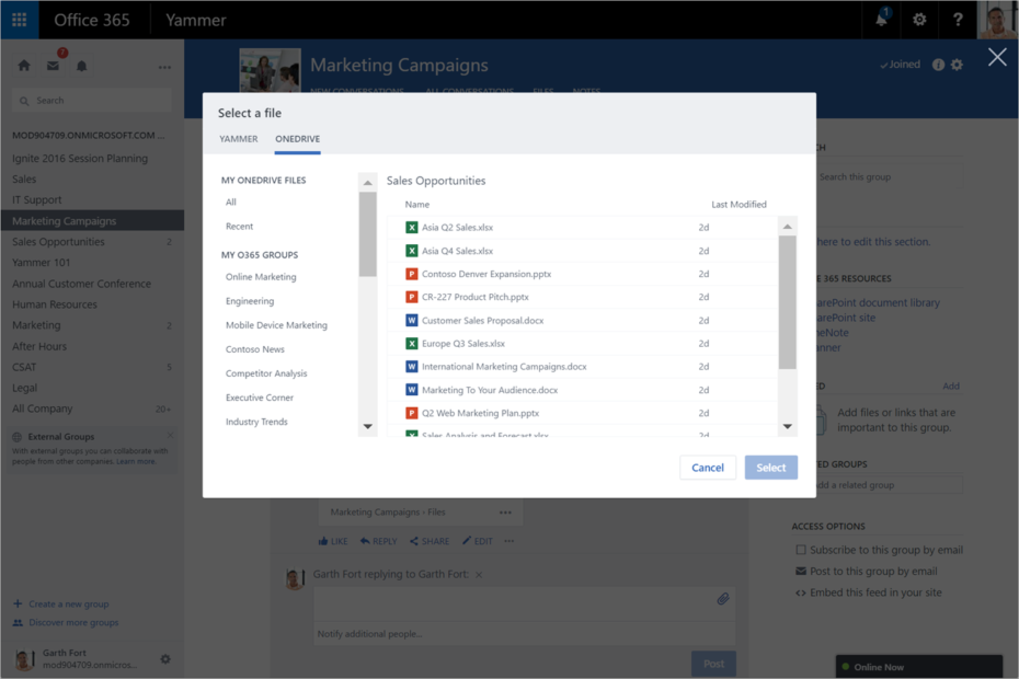 Microsoft is killing Yammer Enterprise, integrating with Office 365 Groups
