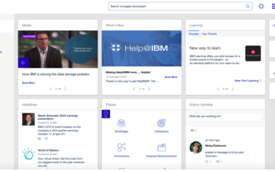 Intranet Radio at IBM