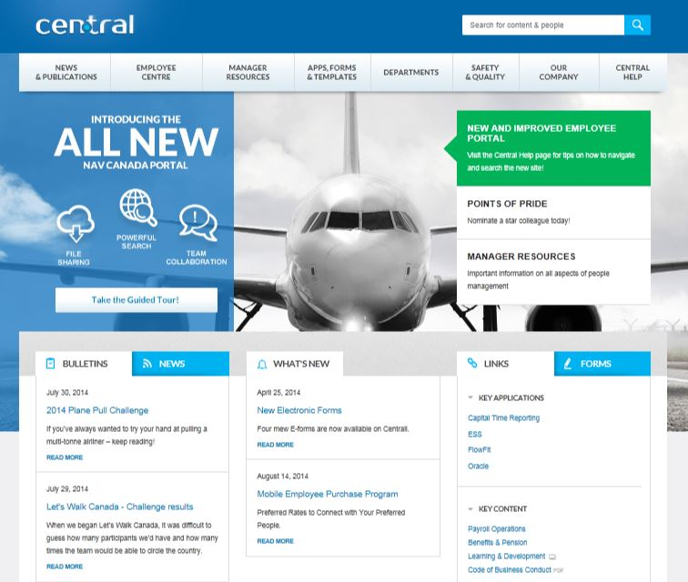 Intranet Design: Less is More