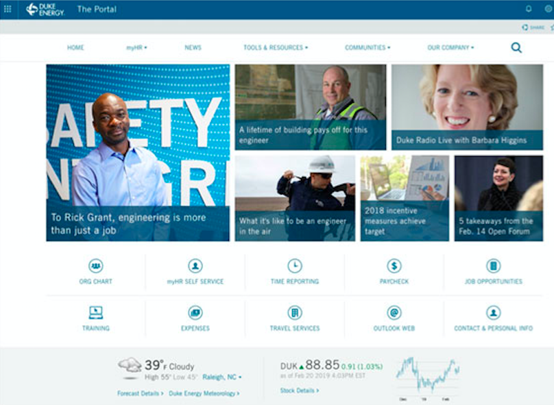 7 Intranet Design Examples Loved By Employees